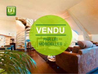 Appartement duplex Mordelles 4 pièce(s) 61 m²