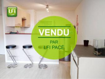 Appartement à vendre à Pacé – 2 pièces – 47 m2