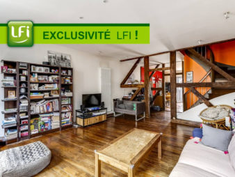 Appartement de plus de 124 m² utiles à vendre en centre ville de Châteaugiron