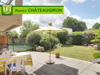 Appartement avec jardin et terrasse – Châteaugiron – 20 min de RENNES