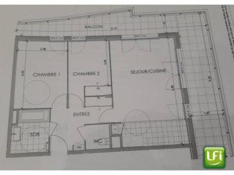 Appartement Betton 3 pièce(s) 64.95 m2