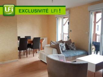 A vendre Appartement – 3 pièces – 63 m2