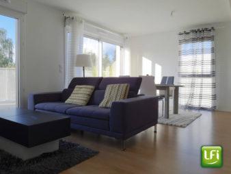 Appartement à vendre à Vezin Le Coquet – 4 pièces  – 95m2