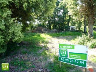 Terrain  à vendre, St Thurial 490m²