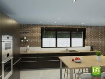 Terrain Rennes 475 m2 avec projet de maison