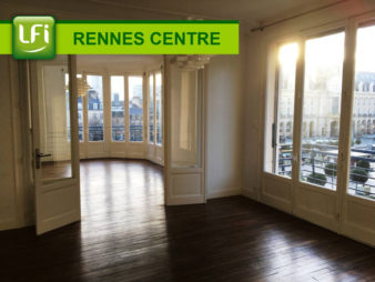 Appartement Type 4 de 105m² à vendre, Les Quais – Rennes Centre