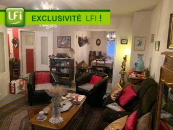 Appartement type 4 – Bourg L'Evesque  – 83.91 m2 – cave et garage