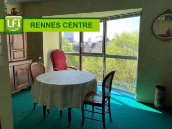 Grand T3 meublé – Rennes Centre ville