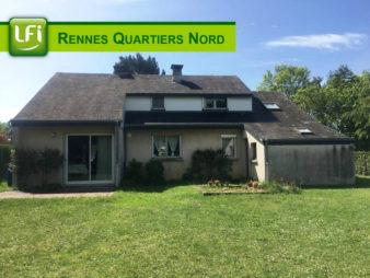 Maison à vendre, Rennes la Bellangerais