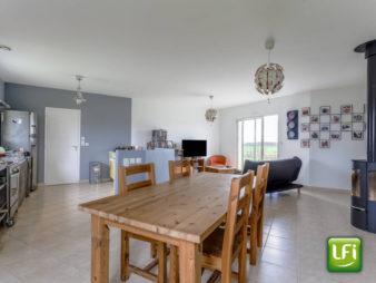 A vendre maison plain-pied  de 2007 3 chambres