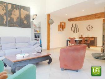 Longère à vendre à Pacé – 149 m² – 6 pièces – 10 min de Rennes