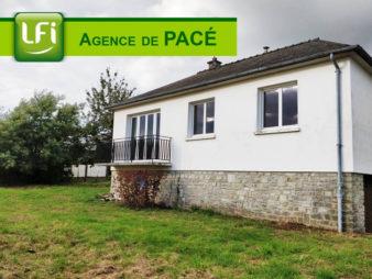 Maison à vendre à Vezin Le Coquet – 3 pièces 64,54 m² – 5min de Rennes.