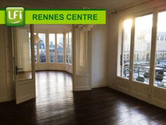 Appartement Type 4 de 104.23 m² à vendre, Les Quais – Rennes Centre