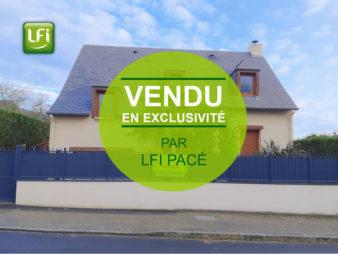 Maison à vendre à St Gilles 5 pièces – 104m² – 12min de Rennes