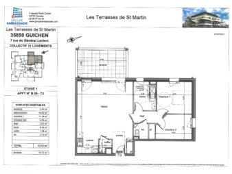 Les terrasses de Saint-Martin à Guichen