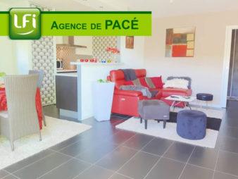 Appartement à vendre à Pace –  3 pièces –  69.68 m² – 10 min de Rennes