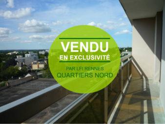 Appartement T 2 à vendre, Rennes Patton
