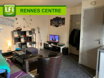 Appartement Rennes 1 pièce(s) 22.95 m2