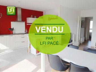 Appartement à vendre Vezin Le Coquet – 3 pièces  70,55 m²  – 5 min de Rennes