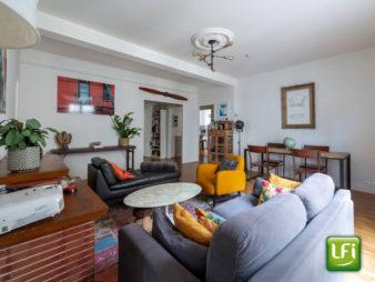 Exclusivité ! Appartement Rennes 4 pièce(s) 92.61 m2 avec cave et grenier à deux pas de la Mairie de rennes