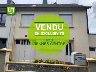 Maison Rennes Saint Brieuc – 5 pièce(s) 79.2 m2 – buanderie  + Garage