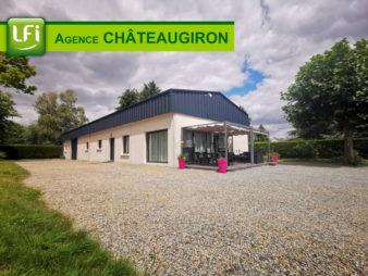Maison esprit LOFT – à 30 min de Rennes