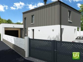 Terrain Rennes – Saint Laurent – 475 m2 avec projet de maison