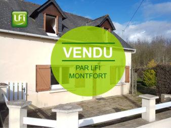Vendu maison 3 pièces 70 m², Iffendic