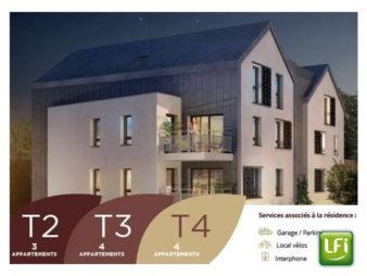 Appartement NEUF à vendre à Pacé 4 pièces – 90.92 m2 – 10min de Rennes – Livraison 2021