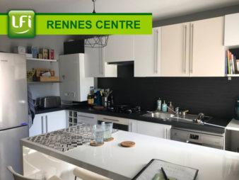 Appartement Quai d'Ille et Rance à Rennes 3 pièces 64 m2, balcon, cave et garage