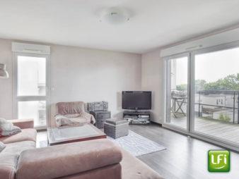Appartement à vendre Vezin Le Coquet – 3 pièces  68,94 m²  – 5 min de Rennes