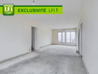 EXCLUSIVITÉ AGENCE ! Appartement Rennes Centre-Ville 6 pièces 117.70 m2 – Garage – Balcons – Cave – Grenier – Quartier Saint hélier, 700 mètres de la gare – Métro