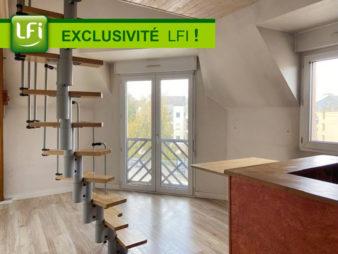 Type 1 duplex quartier proche rue de Nantes
