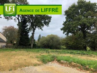 Terrain Erce Pres Liffre 760 m²