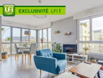 EXCLUSIVITÉ AGENCE ! Appartement Rennes Centre-Ville 3 pièces de 72.39 m² – Parking Couvert – Quartier Saint hélier, 700 mètres de la gare – Métro ligne A et bientôt B