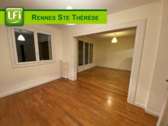 Appartement T3, à louer, Rennes Léon Bourgeois