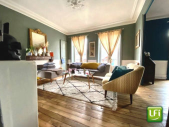 Appartement Rennes Centre Historique – 4 pièces 96.82 m2 – étage élevé – cave – rénovation de qualité