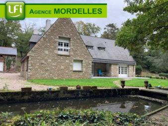Maison de 7 pièces à vendre – Saint Thurial – 10 min de Mordelles et 25 min de Rennes