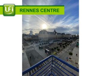 Studio meublé – Rennes Centre Ville – République