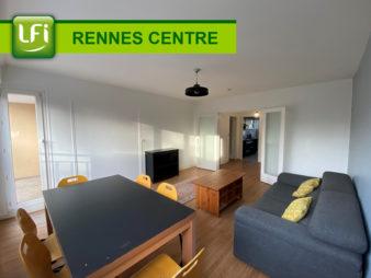 Appartement Type 5 92.47m² – Centre Ville – Colombier – 510€ de loyer par chambre – Uniquement colocation – Meublé