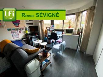 Appartement Rennes 1 pièce(s) 20 m2
