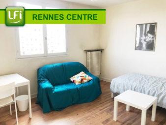 A louer T3 meublé proche Anatole France – Pontchaillou – Idéal colocation