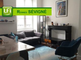 Appartement Rennes 2 pièce(s) 34 m2
