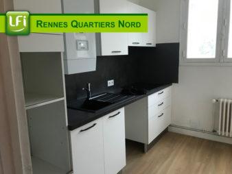 Appartement T3 à louer, Rennes rue de Fougères