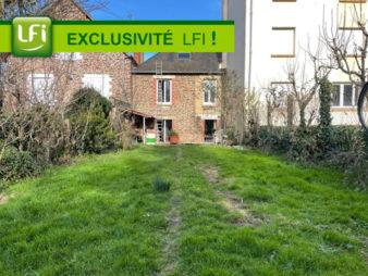 EXCLUSIVITE AGENCE ! Maison Rennes Centre ville, Anatole France, 5 pièces, 90 m2, Terrain 244 m², garage.
