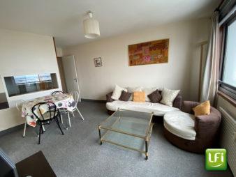 Appartement Type 2 meublé à louer – Les Horizons – Parking – Cave