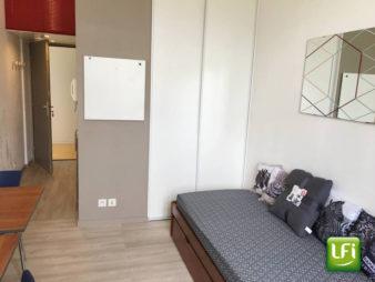 Appartement T1 meublé à louer – Centre ville – Résidence Le Grand Collège – Centre Historique – Meublé