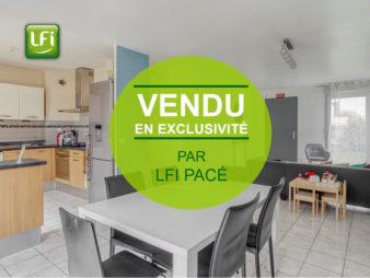 Maison de type 5 à vendre – 90 m² – Pacé – 5 min de Rennes
