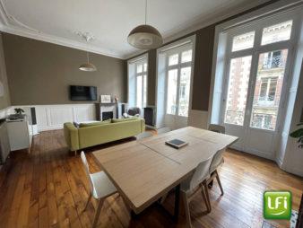 Appartement Rennes Centre-ville – à deux pas du métro Saint Anne – Ligne A et bientôt la ligne B – 4 pièces de 79.56 m² –