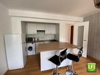 Appartement meublé Rennes Saint Hélier – Gare côté Nord – 2 pièces 37.5 m2 – Cave